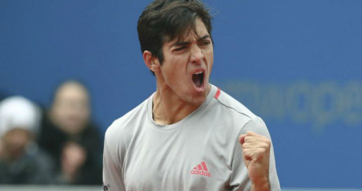 Christian Garin: I hope this is just the beginning
