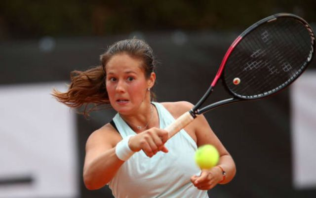 Daria Kasatkina successfully started her performance at Roland Garros.