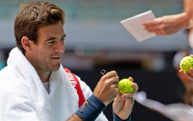 Juan Martin Del Potro: Now I can not be included in the number of favorites in Madrid