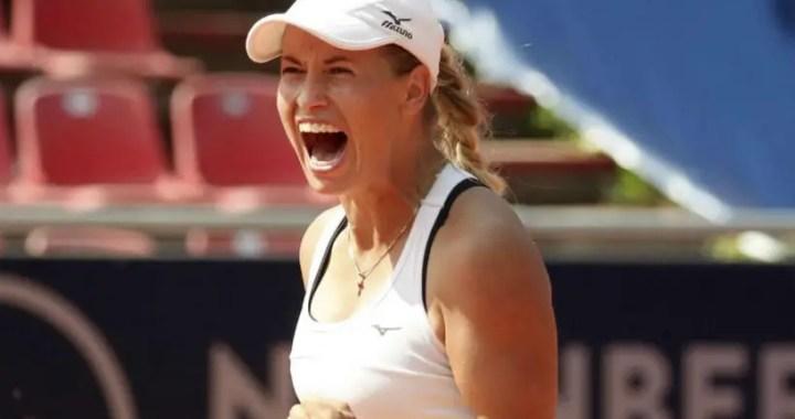 Yulia Putintseva won the competition in Nuremberg