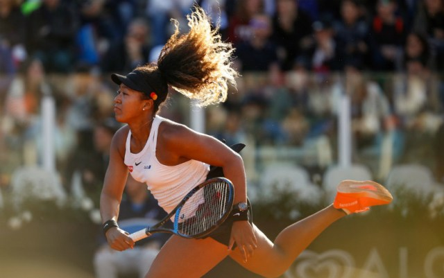 Naomi Osaka withdrew from the tournament in Rome