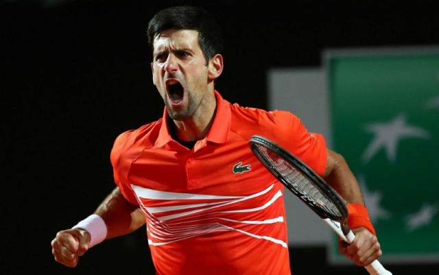 Novak Djokovic became a Masters finalist in Madrid