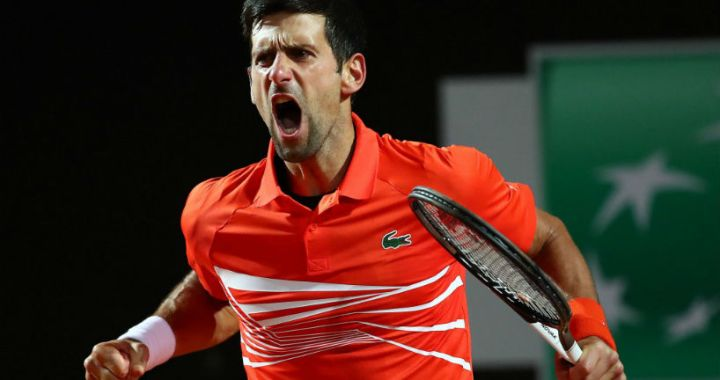 Novak Djokovic became a Masters finalist in Madrid