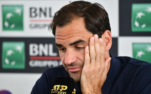 Roger Federer: I went to Rome because there was bad weather in Switzerland