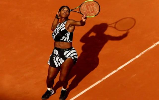 """Roland Garros"". Serena Williams took over Vitalia Diatchenko"