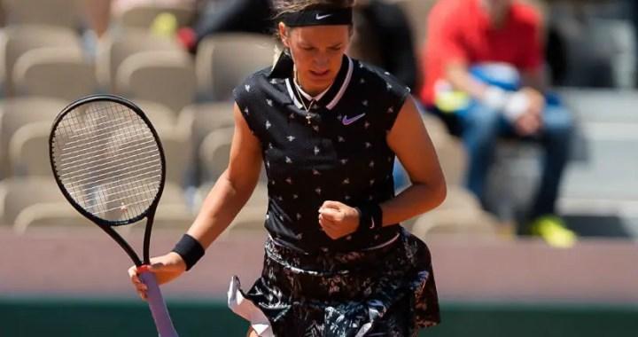 """Roland Garros"". Victoria Azarenka took over Jelena Ostapenko"