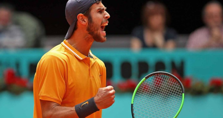 Rome. Karen Khachanov achieved victory at the start of the competition