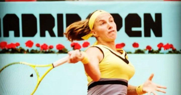 Svetlana Kuznetsova defeated Aryna Sabalenka at the start of the tournament in Madrid