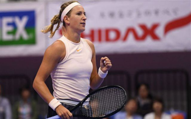 Victoria Azarenka leaves the tournament in Rome