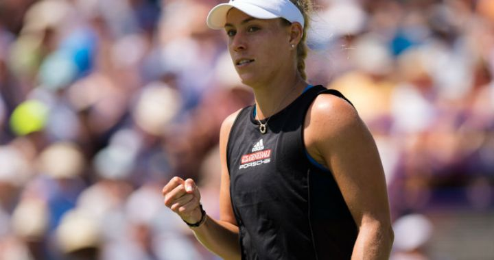 Angelique Kerber without a fight reached the final of the tournament in Eastbourne