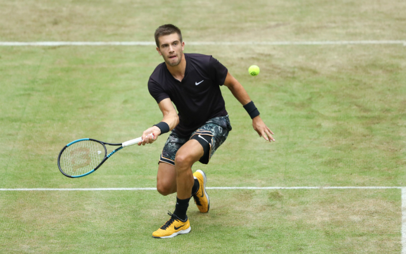 Borna Coric was unable to finish the match quarter finals in Halle_5d0d02d221c60.jpeg