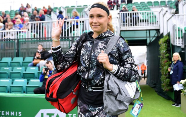 Donna Vekic: Happy that this match is over
