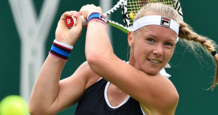 Eastbourne. Kiki Bertens continues to fight for the main trophy