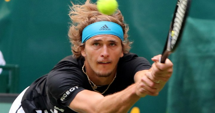 Halle. Alexander Zverev lost to David Goffin