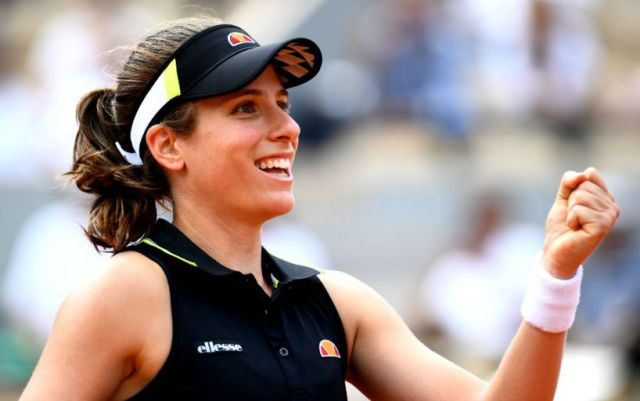 Johanna Konta: Not once faced with difficult situations during this season