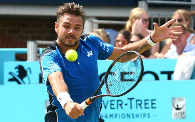 London. Stan Wawrinka conceded the 191st racket of the world