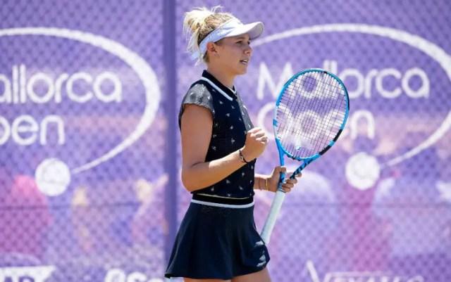 Mallorca. Amanda Anisimova won a strong-willed victory at the start