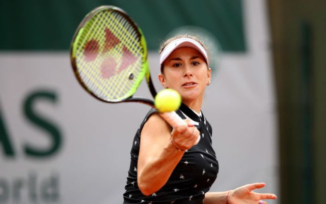 Mallorca. Belinda Bencic reached the quarterfinals on the opponent's refusal