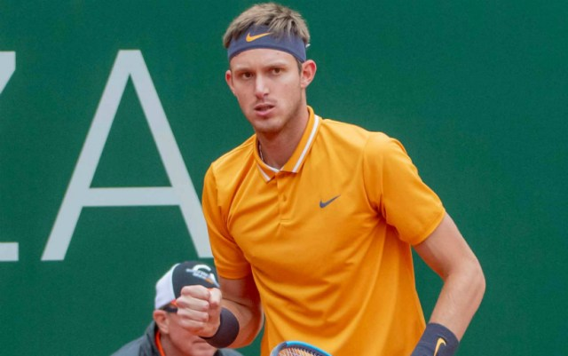 Nicolas Jarry: Pleased with playing against Tsitsipas