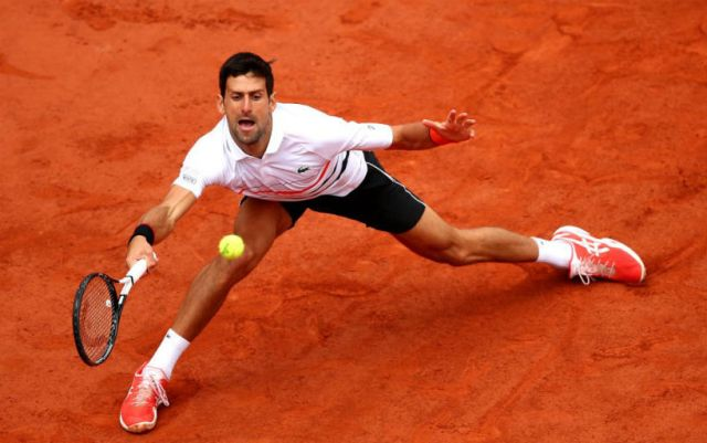 "Novak Djokovic lost to Dominic Thiem in the semi-final ""Roland Garros"""