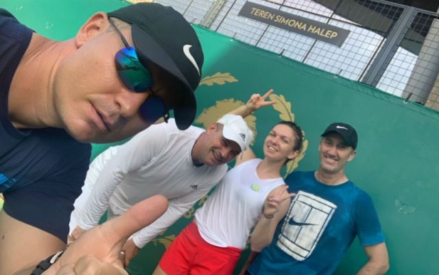 Simona Halep is preparing for Wimbledon under the guidance of Darren Cahill