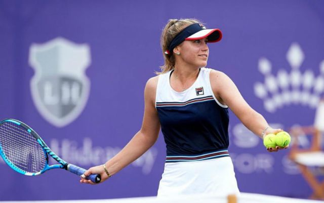 Sofia Kenin became the champion of the tournament in Mallorca