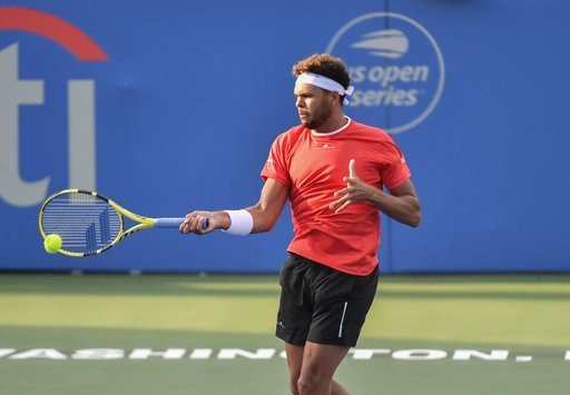 Jo-Wilfried Tsonga: I am glad that I had a meeting at this level.