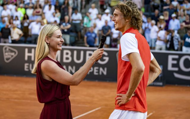 Alexander Zverev resumed relations with Olga Sharypova