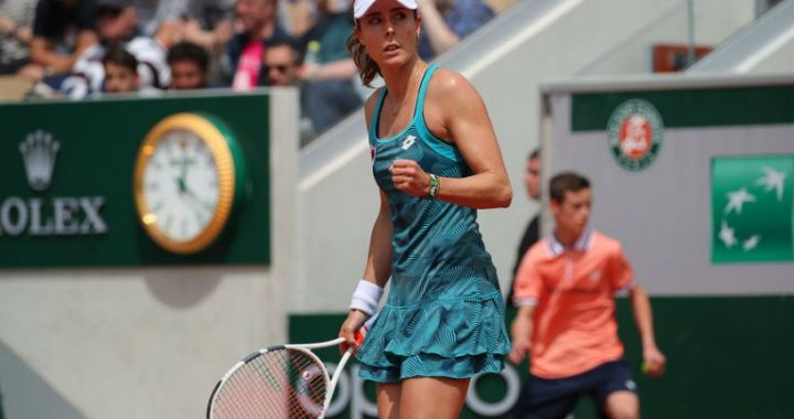 Alize Cornet will compete for the title in the tournament in Lausanne