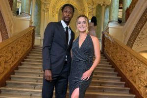Elina Svitolina and Gael Monfils visited the Odessa Opera House