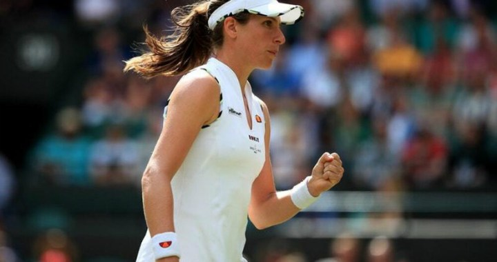 Johanna Konta continues to fight for the main trophy of Wimbledon