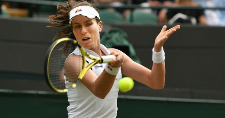 Johanna Konta: I was ready for the end of the second set
