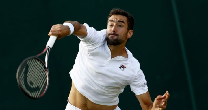 Marin Cilic was defeated in the second round of Wimbledon