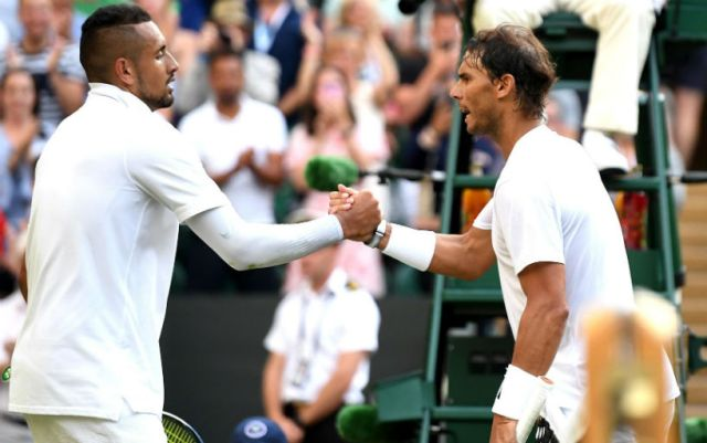 Nick Kyrgios: I hit Nadal on purpose