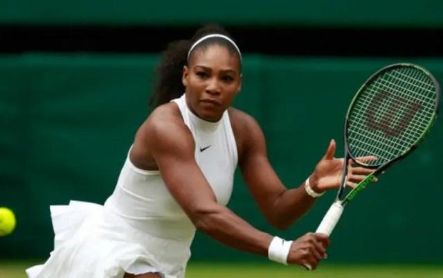 Serena Williams became Wimbledon quarter-finalist
