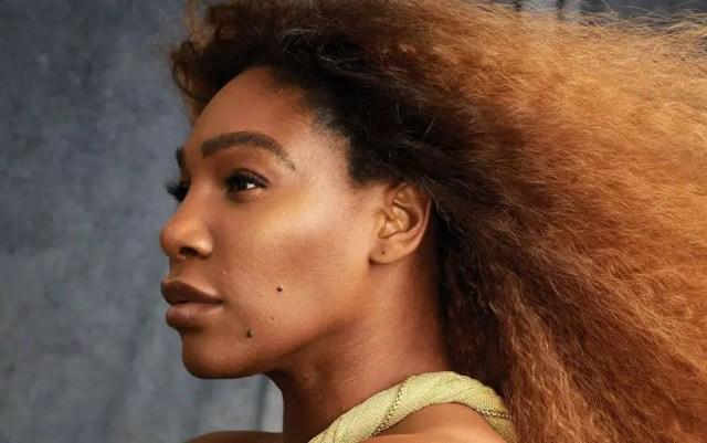 Serena Williams hit the cover of Harper's Bazaar