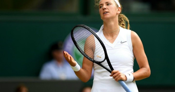 Victoria Azarenka: Created opportunities for attack, but she spoiled everything