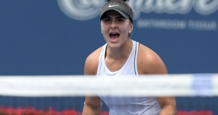 Bianca Andreescu became the Premiere Finalist in Toronto