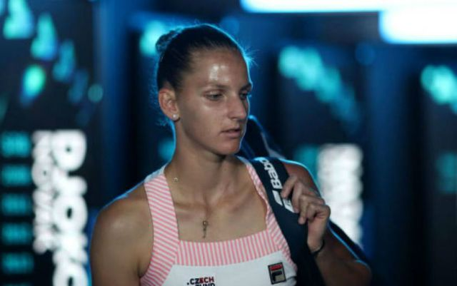 Karolina Pliskova lost in the quarterfinals of the Toronto tournament
