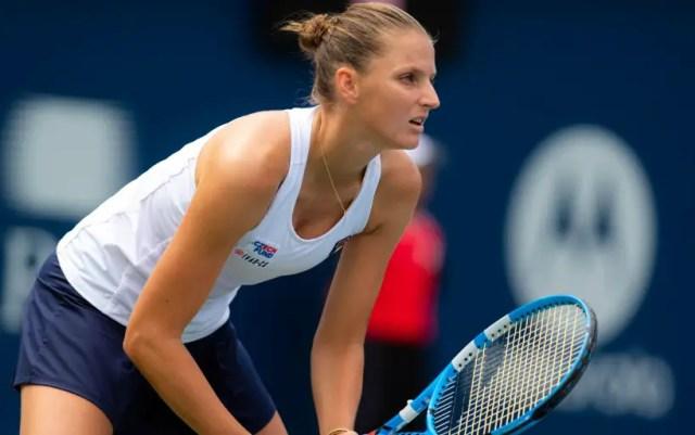 Karolina Pliskova: I never saw the game Peterson