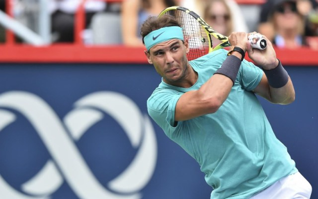 Rafael Nadal continues to perform at the Rogers Cup