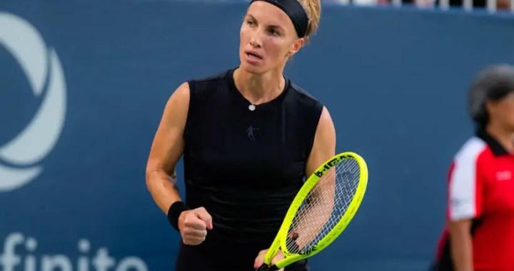 Svetlana Kuznetsova: Match with Barty – another workout