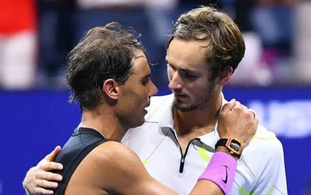 Marat Safin: It was a fantastic match! Bravo, Rafa, bravo, Daniil!