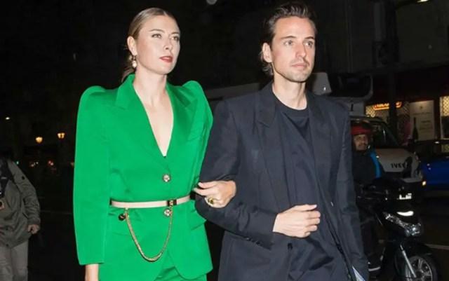 Maria Sharapova published a photo with her boyfriend