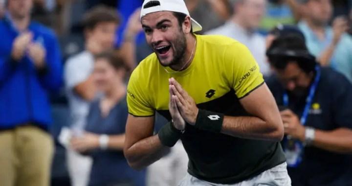 Matteo Berrettini: However i like to fight