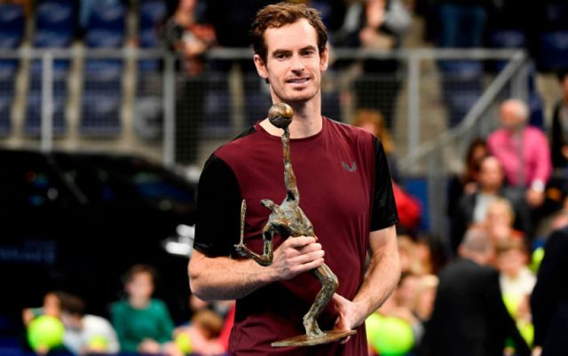 Andy Murray won the tournament in Antwerp