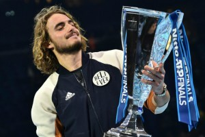 Stefanos Tsitsipas: Holding this trophy is a little scary