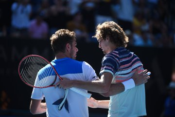 Stan Wawrinka: Zverev played powerfully and served well