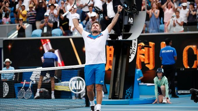 Stan Wawrinka: So cool I have not played for three years.