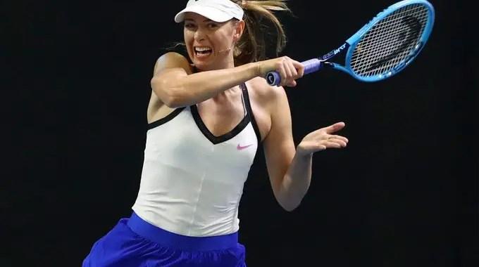 Tennis star  Maria Sharapova  announced retirement
